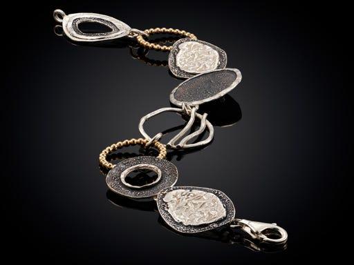 Armband uit de Touch of Gold collectie van Jeh Jewels op Sieraden In Stijl