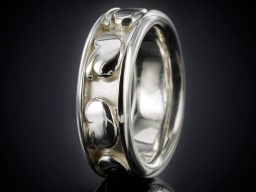 nierring nier ring zilver sieraad