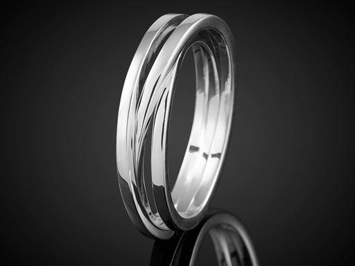 wikkelring wit goud 3 baans marijke mul sieraden in stijl goudsmid juwelier
