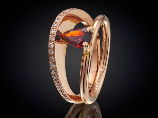 ring marijke mul zonsopgang collectie sieraden online verloving trouwen overlijden jubileum geboorte