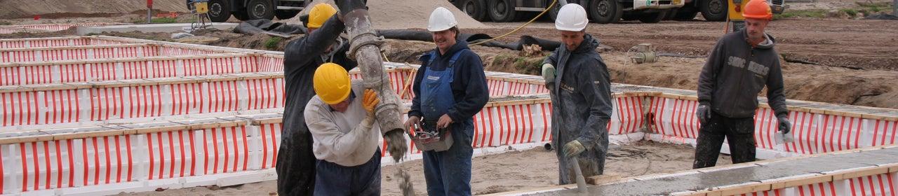 Veilig beton storten