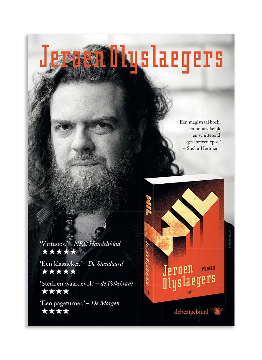 Poster A2 Jeroen Olyslaegers