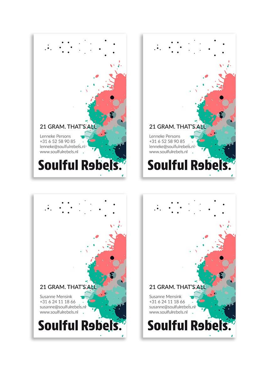 Soulful Rebels • visitekaartjes