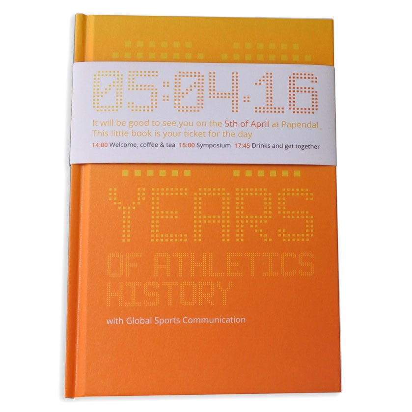 Global Sports Communication 30 years of Athletics History