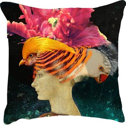 Cushion Magolie et les Pigeons