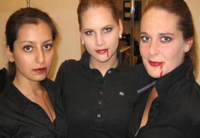 Werken op True blood vampire party