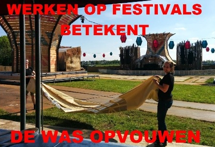 Werken op festivals: Soenda festival