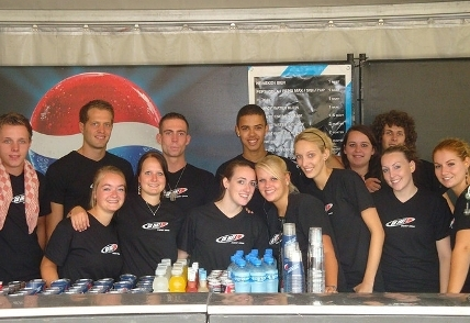 Werken op Q-base festival 2010