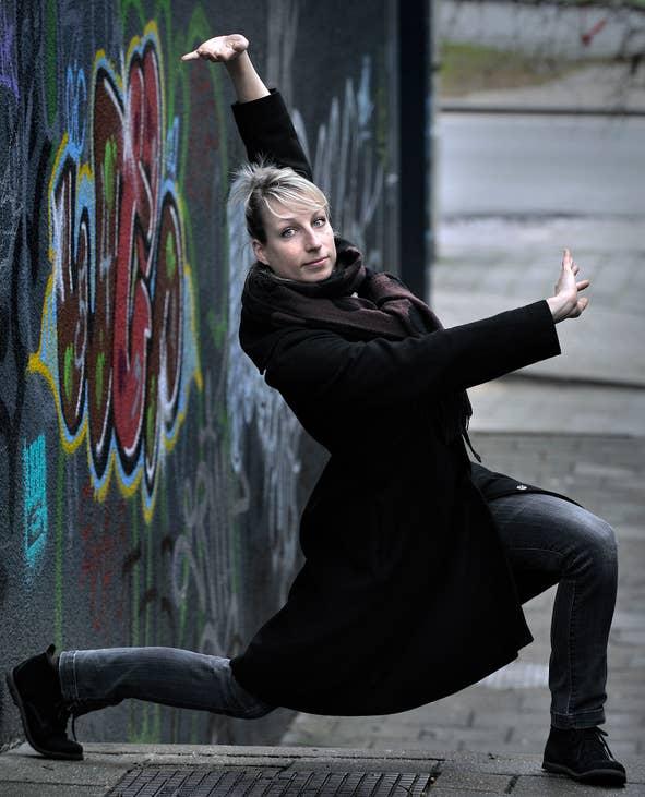 Serie dansportretten, 2011-13. Karin Lambrechtse.