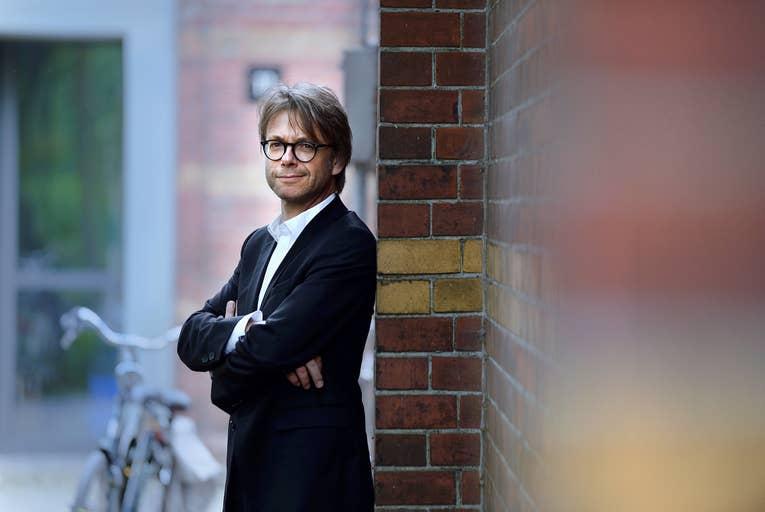 Hans Smit, presentator en journalist.