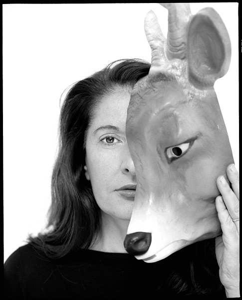 Marina Abramovich, artist/performer.