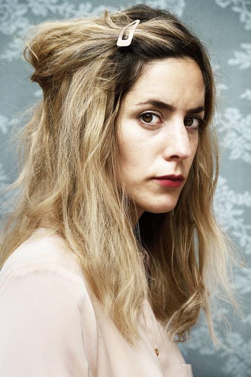 Naomi Velissariou, actrice.