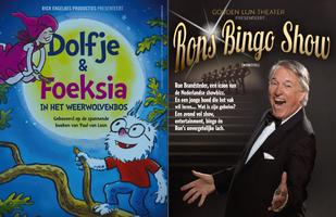Dolfje en Foeksia en Rons Bingo Show