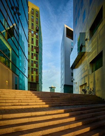 AMSTERDAM IJ BUILDINGS