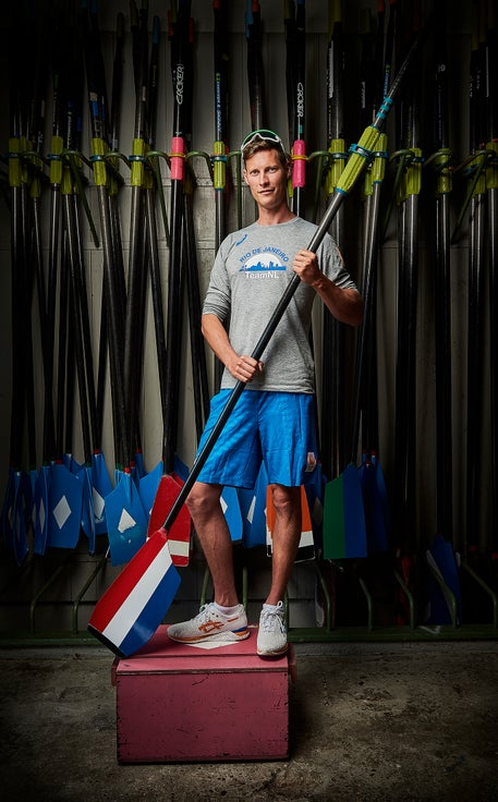 TIM HEIJBROCK OLYMPIC ROWING TEAM FOR NZO MAGAZINE